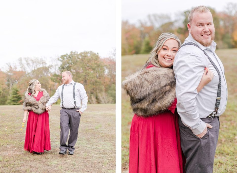 Vintage Engagement at Quiet Waters Park by Costola photography