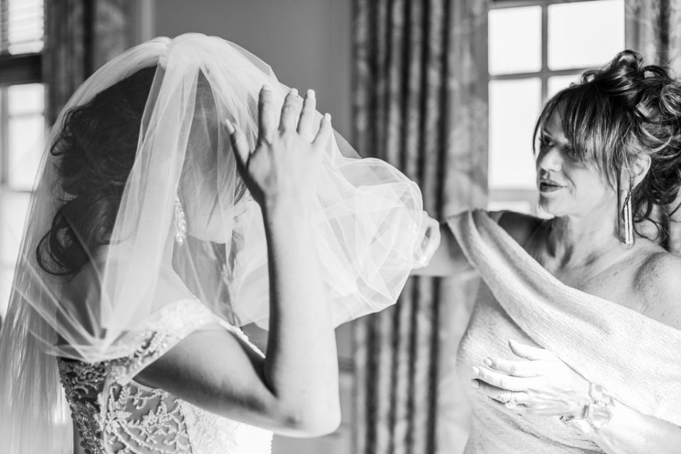 Bride gettin ready at The Great Marsh Estate photographed by Costola Photography