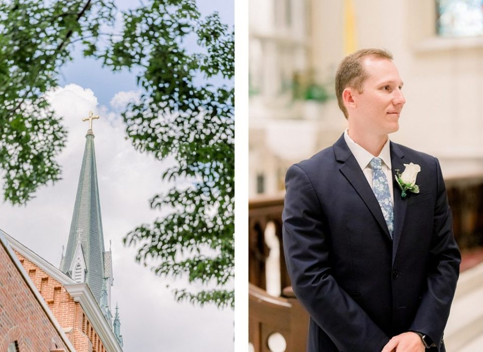 St. Mary's Church Wedding in Annapolis by Costola Photography