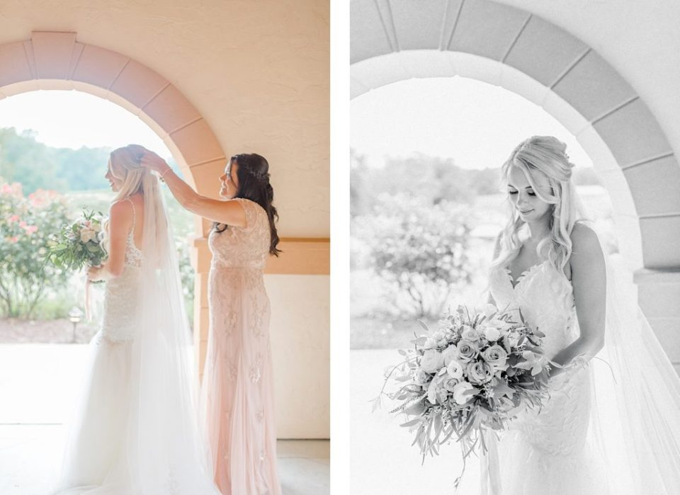 Bride Getting Ready at The Running Hare Vineyard by Costola Photography