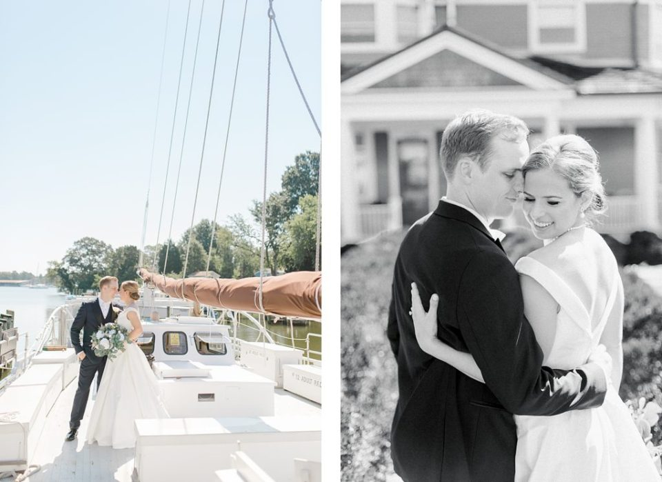 Lighthouse wedding in southern maryland cove point light house calvert marine museum by costola photography