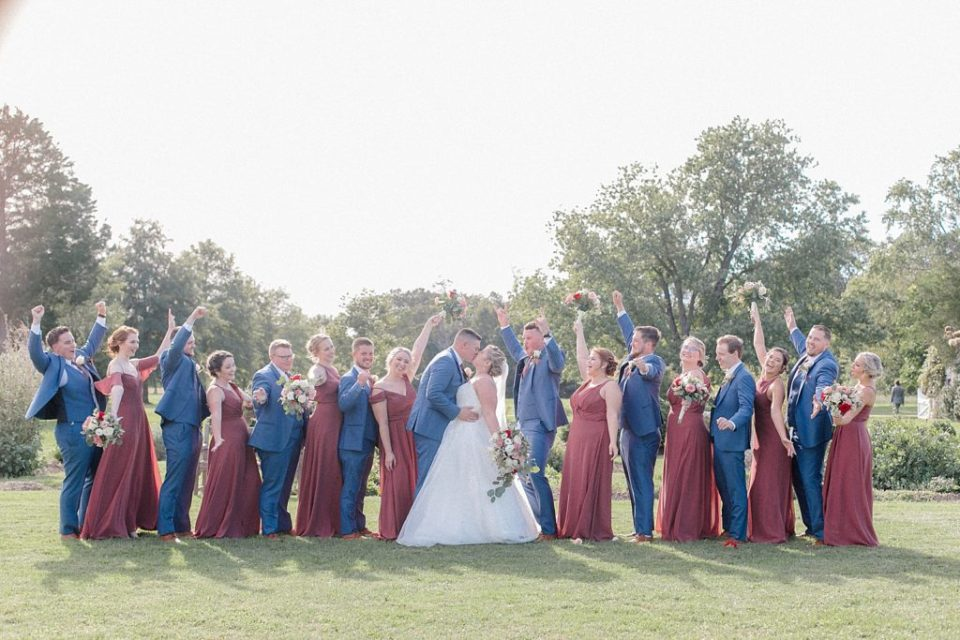 Wedding Party at Sotterley Historic Site Wedding by Costola Photography
