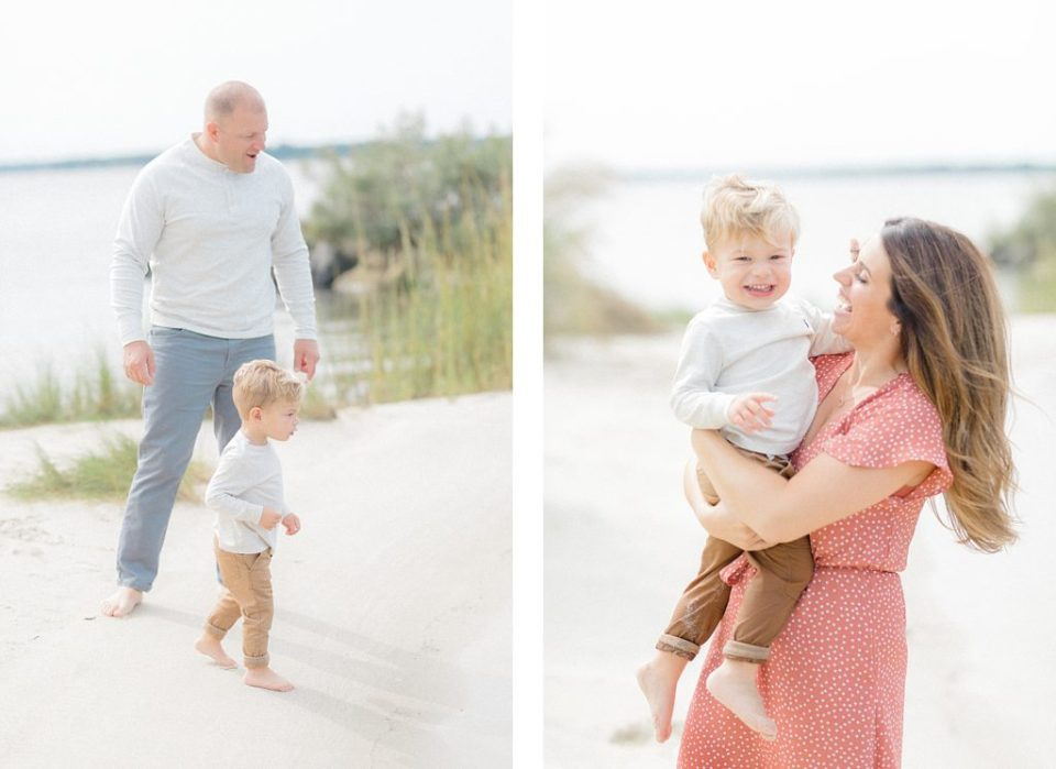 Southern Maryland Beach Family Session by Costola Photography