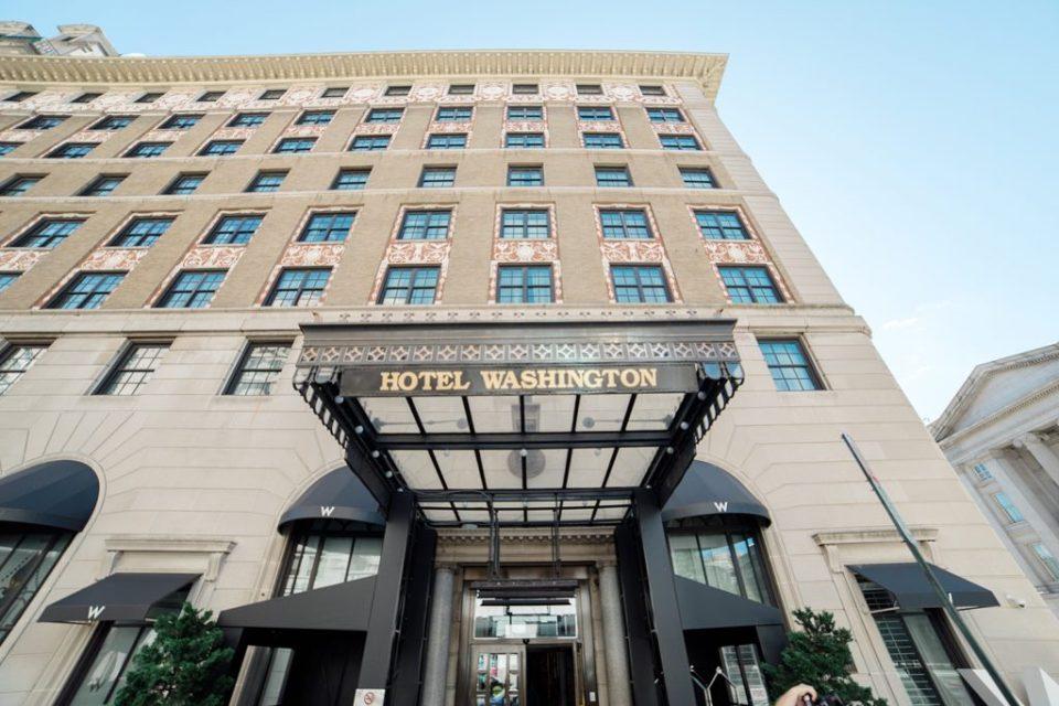 The W Washington DC Hotel Venue Tour by Costola Photography