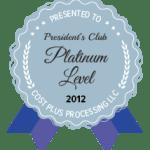 Platinum Level 2012