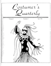 Costumers Quarterly Vol 4 No 4