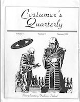 Costumers Quarterly Vol 5 No 3