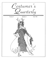 Costumers Quarterly Vol 5 No 4