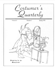 Costumers Quarterly Vol 6 No 2
