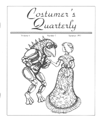 Costumers Quarterly Vol 6 No 3