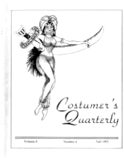 Costumers Quarterly Vol 6 No 4