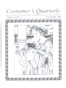 Costumers Quarterly Vol 9 No 3