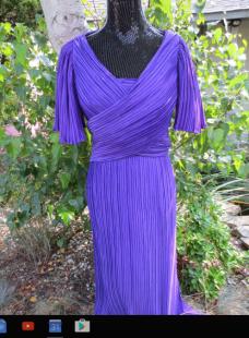 purple richiline new york dress from etsy