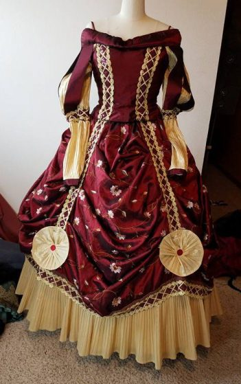 front of Banquest dress