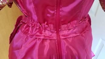 elastic waistband, Cinderella transforming dress