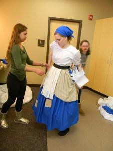 vest comes off, Cinderella