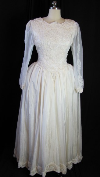 front of dress (with bum pad)