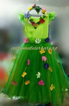 rochita-verde-zana-flori-primavara-fluturi