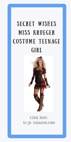 secret wishes miss krueger costume