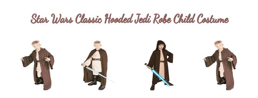 Star Wars Classic Hooded Jedi Robe Child Costume