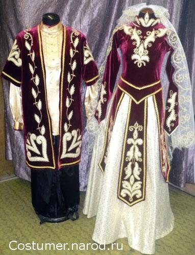 грузинская национальная платье фото Кокетка