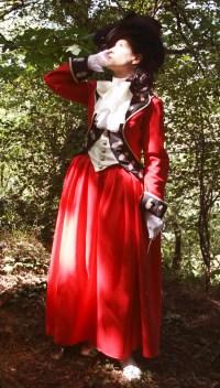 ady worsley riding habit 1780