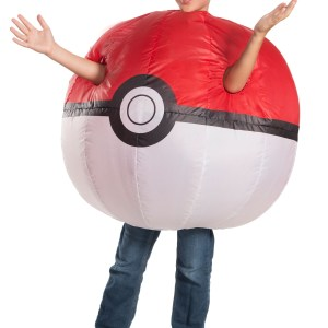 Childs Pokemon Inflatable Pokeball Costume