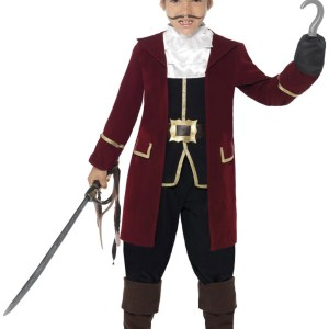 Deluxe Captain Hook Costume for Boys
