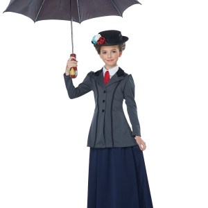 English Nanny Costume for Girls
