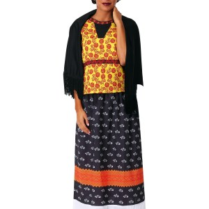 Women's Frida Kahlo Costume Dress