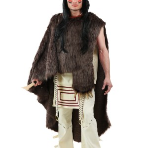 Deluxe Native Warrior - Plus Size Costume for Men