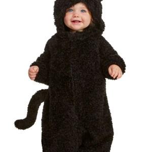 Black Cat Costume for Babies