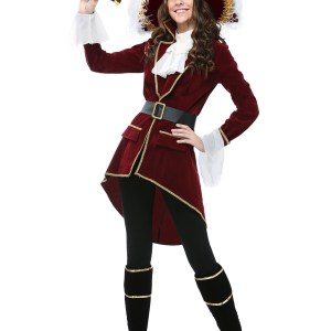 Captain Hook Women's Plus Size Costume
