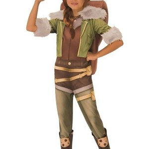 Child Squirrel Girl Costume for Girls