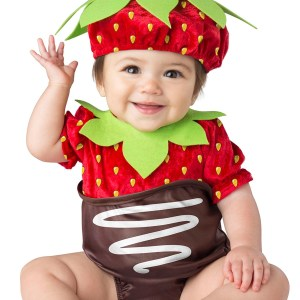 Chocolate Strawberry Costume for a Child