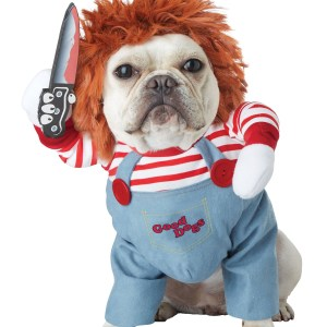 Deadly Doll Costume for a Dog