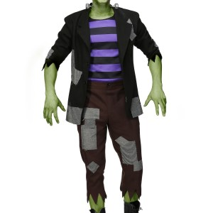 Frankenstein's Men's Plus Size Monster Costume