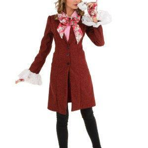 Deluxe Plus Size Women's Mad Hatter Costume 1X 2X