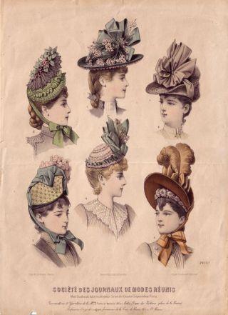 Gravure de mode 1870-1880 (1)