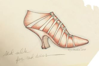 Outlander - Chaussures rouges (2)