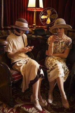 Sur le tournage de Downton Abbey (53)
