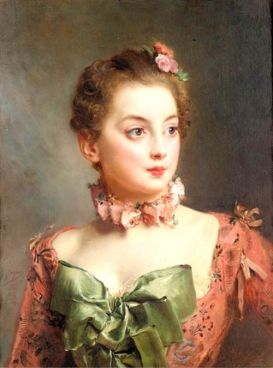 Gustave Jean Jacquet - Portrait of a lady