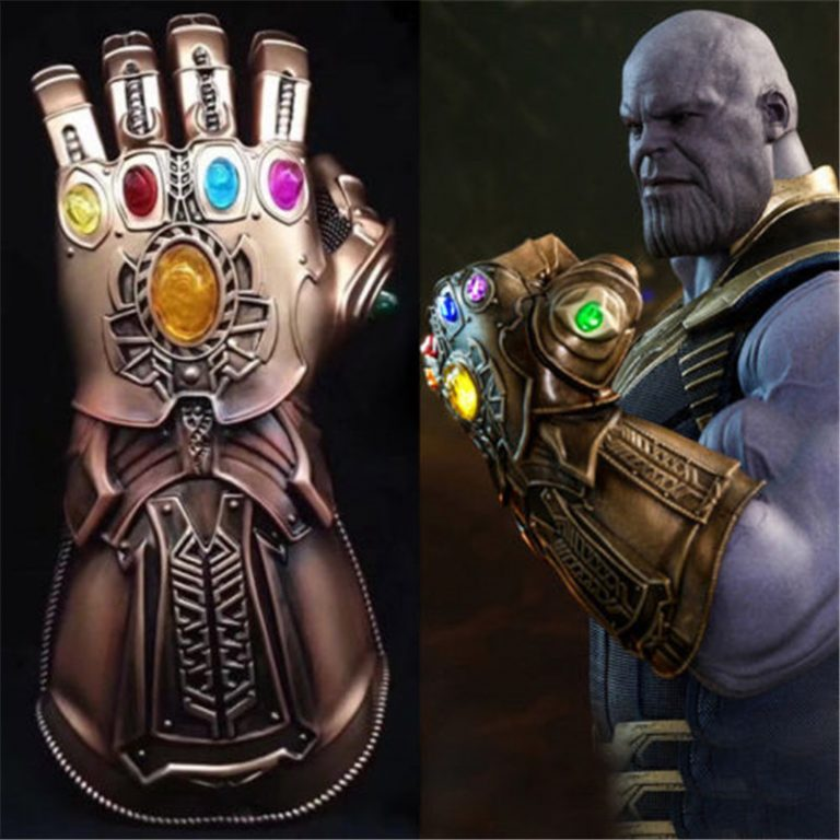 In the comic book marvel universe, thanos lost possession of the infinity gauntlet in a way that was radically different from his mcu. Thanos Infinity Gauntlet Gloves