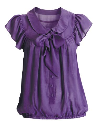 hm purple blouse Lavender Blouses And Tops