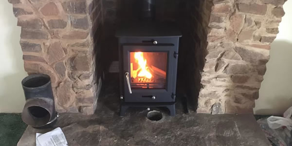 Installation Of Cosyfire Owatta 5kw Stove Cosy Stoves