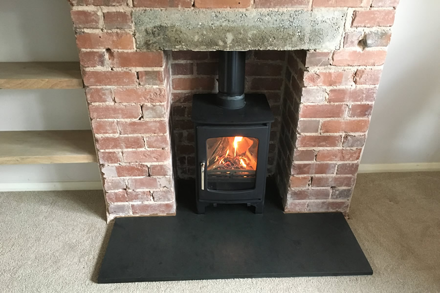 Image result for photo of log burner on snooker slate