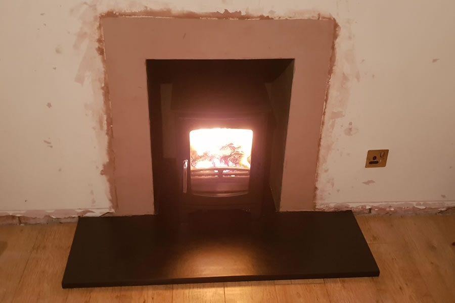 Woodburner installer in Stogursey