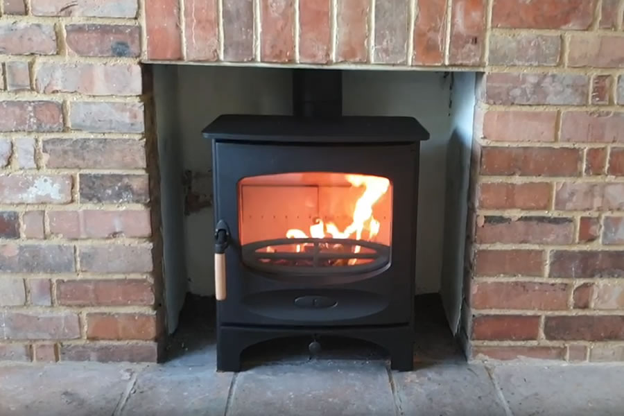 Charnwood Cr Multifuel Woodburning Stove