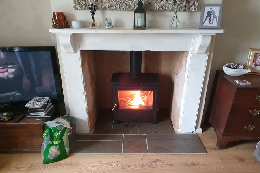 Woodburner installer in Rocknell Tiverton
