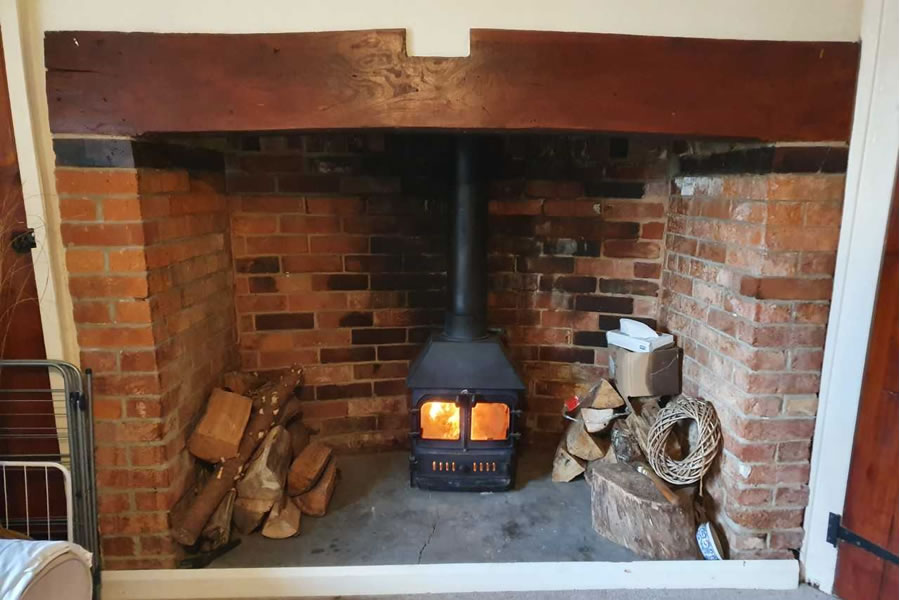 HETAS woodburner installer in Chard